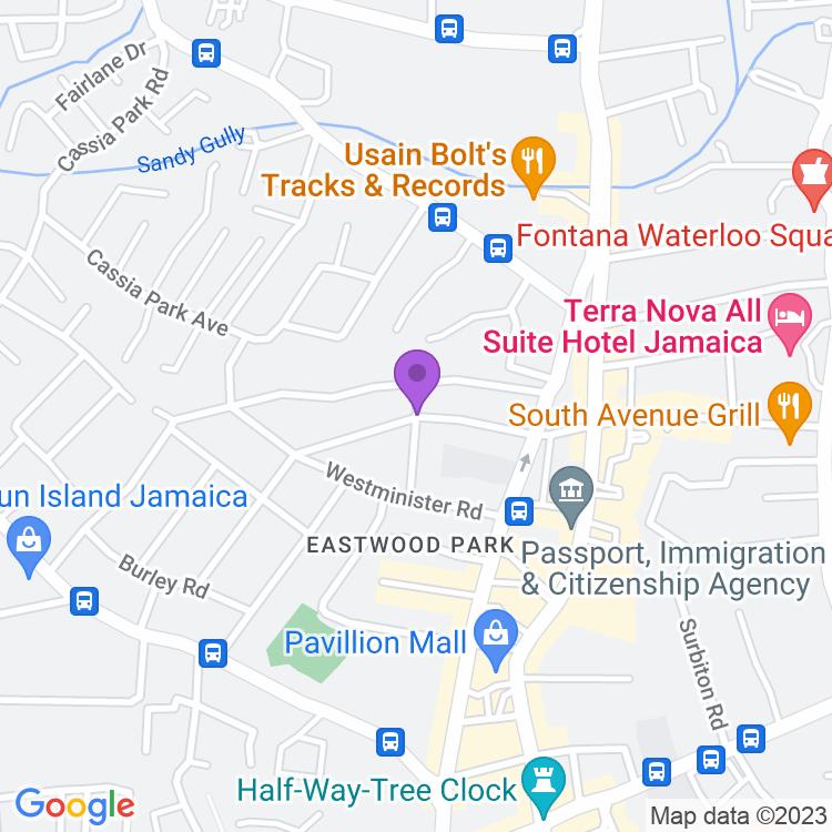Map showingNanook