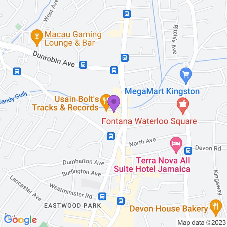 Map showingMarketplace