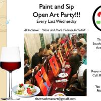Paint and Sip Open Art Party
