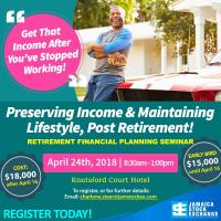 Preserving Income & Maintaining Lifestyle Post