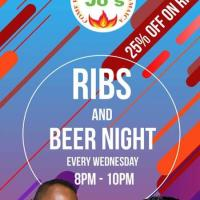 JoJo's Ribs & Beer Night