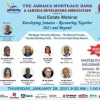 Developing Jamaica - Recovering Together, 2021 and Beyond