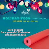 Afya: Holiday Yoga