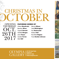 Christmas in October Art Exhibition and Sale