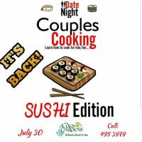 Couples Cooking Sushi Edition