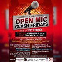 Open Mic Clash Fridays