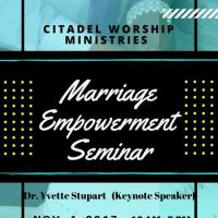 Marriage Empowerment Seminar