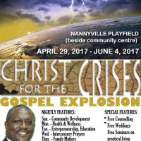 CHRIST FOR THE CRISIS GOSPEL EXPLOSION