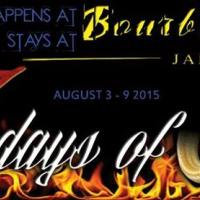 7 Days of Sin ~ What Happens at Bourbon Beach...Stays at Bourbon Beach