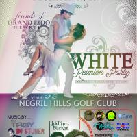 Lido Negril All White Reunion Dinner Party