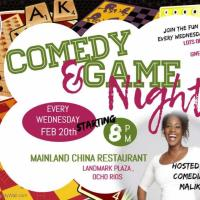 Comedy & Game Night