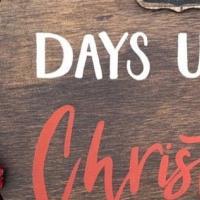 Days Until Christmas Chalk Door Hanger at SRW