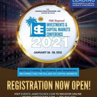 Jamaica Stock Exchange 16th Regional Investments and Capital Markets Conference 2021