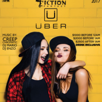 Uber Friday @ Fiction