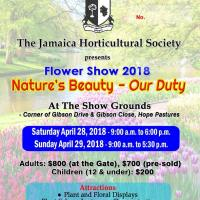 Flower Show 2018: Nature's Beauty - Our Duty