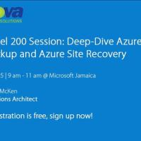 Deep-Dive Azure Back & Site Recovery