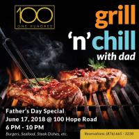 Grill N' Chill with Dad