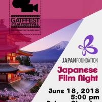 Japanese Film Night - GATFFEST 2018