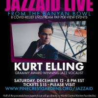 Pinecrest Gardens presents 'Banyan Bowl Live' featuring Kurt Elling