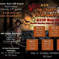 Silks $40k Guaranteed Halloween Tournament!